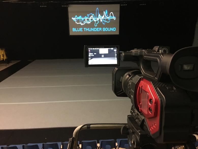 blue thunder sound technical production