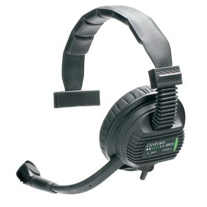 single muff headset hire