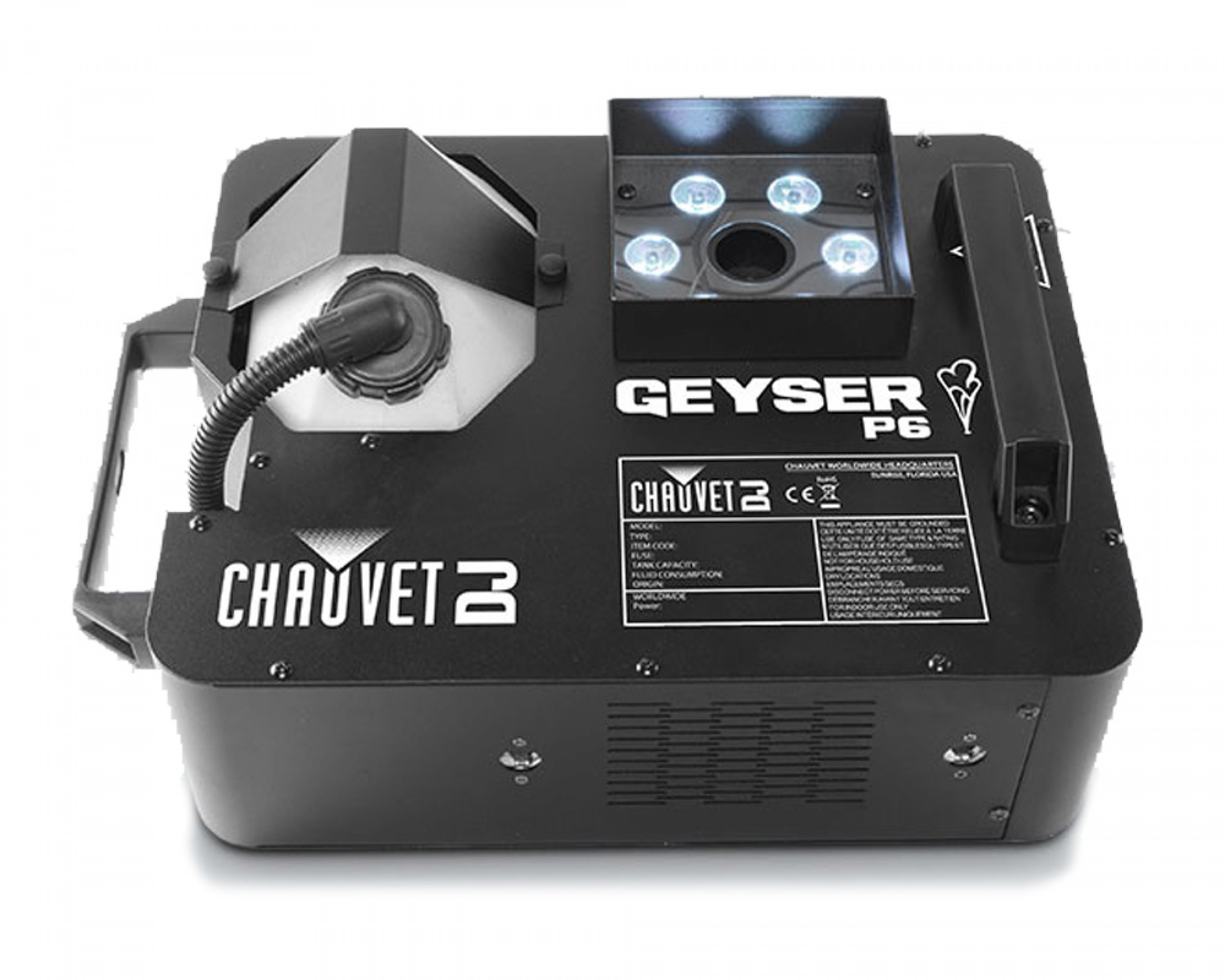 Chauvet Geyser RGBUV smoke machine