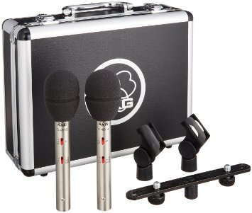 AKG C451 Stereo Matched Pair Rental