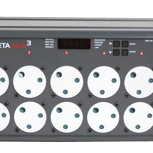zero 88 beta pack 3 dimmer hire