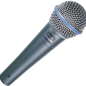 hire shure beta 58a microphone